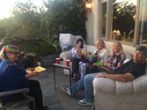 Tina, Vicki, Susan, Sharon + Mike