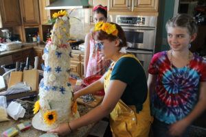 The Cake! Talia, Maddi + Erin