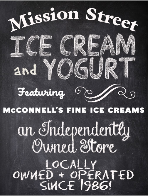 Artemis Studios Graphic Design for Mission Street Ice Cream & Yogurt