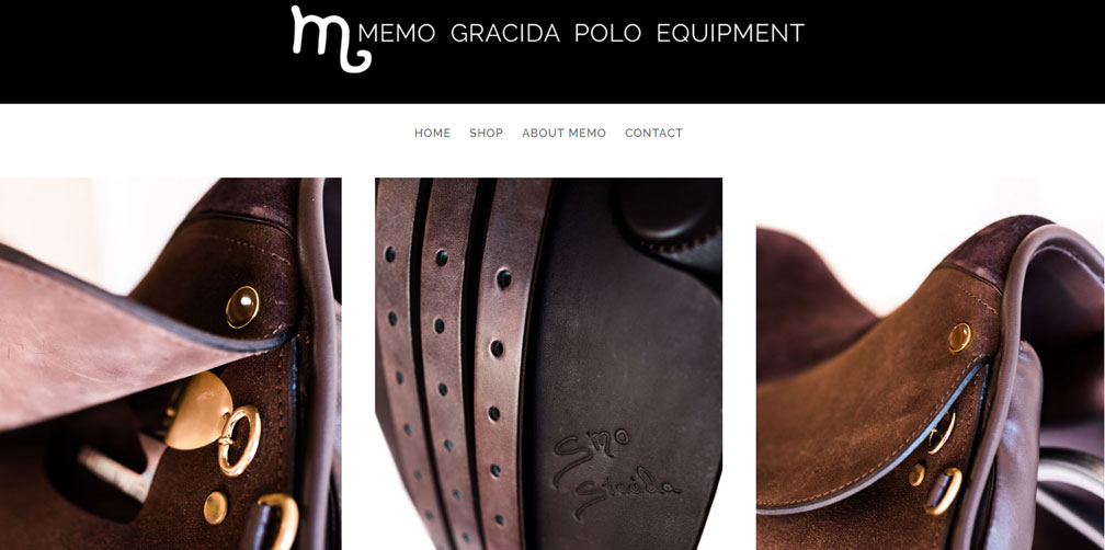Memo Gracida Polo Equipment