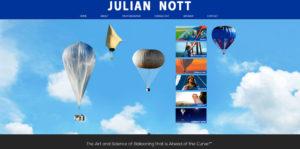 Julian Nott, Balloonist | Scientist | Inventor