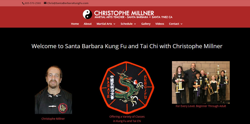 Santa Barbara Kung Fu with Christophe Millner